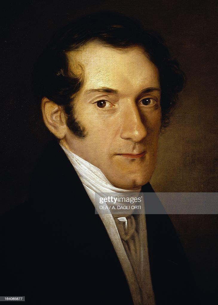Portrait of Josef Mayseder... : Nachrichtenfoto