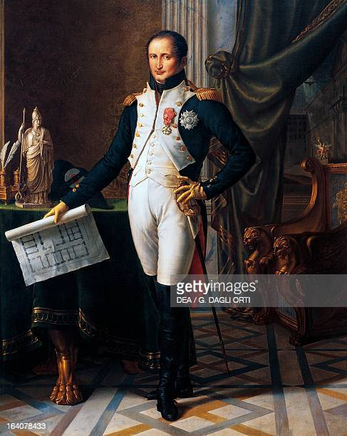 Portrait of Joseph Bonaparte 18071808 French politician brother of Napoleon Bonaparte King of Naples from 1806 to 1808 and Spain from 1808 to 1813...