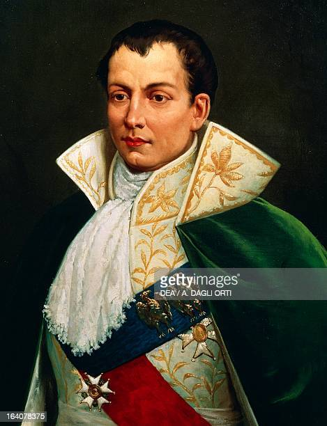 Portrait of Joseph Bonaparte French politician Brother of Napoleon Bonaparte King of Naples from 1806 to 1808 and Spain from 1808 to 1813 Painting by...