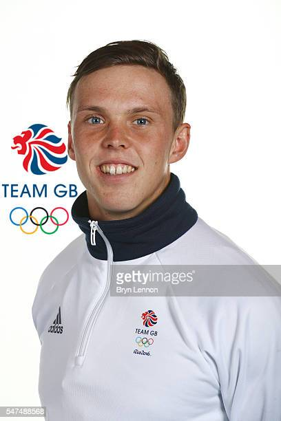 A portrait of Joseph Clarke a member of the Great Britain Olympic team during the Team GB Kitting Out ahead of Rio 2016 Olympic Games on July 13 2016...