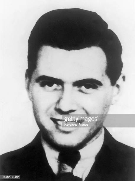 Portrait Of Joseph Mengele Around 1935.