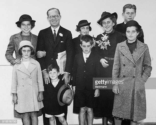 Portrait of Joseph P. Kennedy and His Family