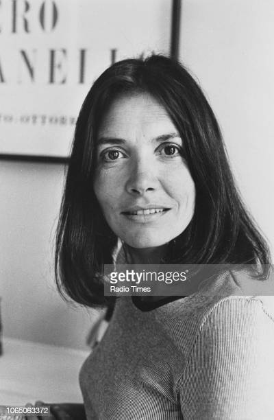 Portrait of journalist and television presenter Joan Bakewell June 1975