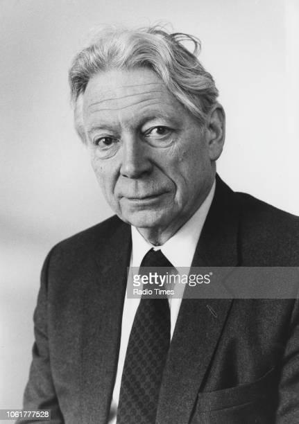 Portrait of journalist Geoffrey Goodman March 1st 1988