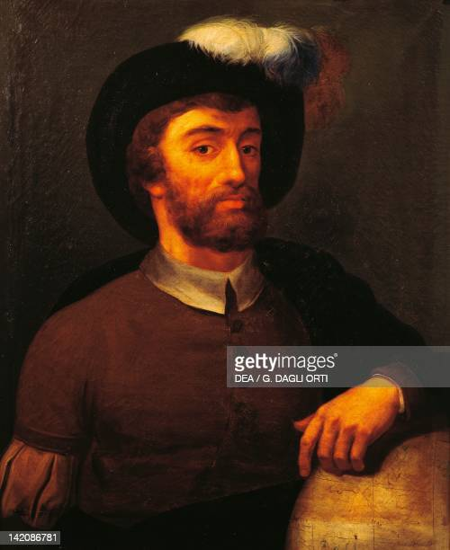 Portrait of Juan Sebastian Elcano Spanish explorer painting