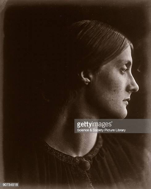 Portrait of Julia Jackson mother of writer Virginia Woolf and artist Vanessa Bell by Julia Margaret Cameron Cameron's photographic portraits are...
