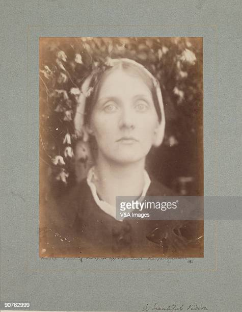 'UNITED KINGDOM MAY 19 Portrait of Julia Jackson mother of writer Virginia Woolf and artist Vanessa Bell by Julia Margaret Cameron Cameron's...