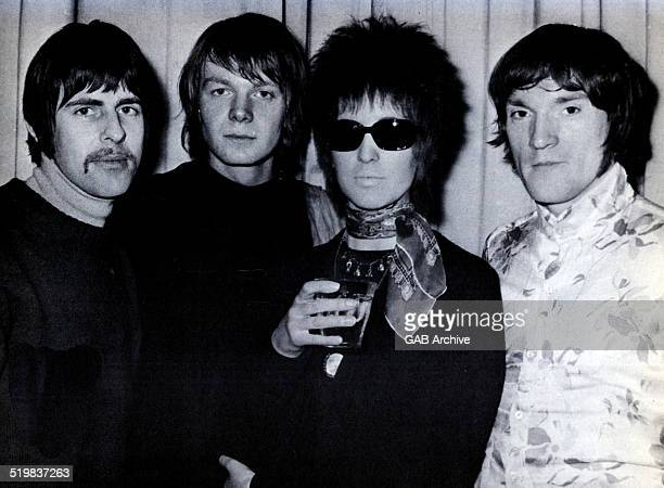Portrait of Julie Driscoll with Brian Auger and the Trinity 1968