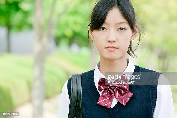 Portrait of Junior High School Student