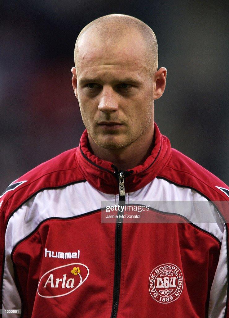 Portrait of Kasper Bogelund of Denmark before the International Friendly between Scotland and Denmark at Hampden Park in Glasgow, Scotland on August 21, 2002.