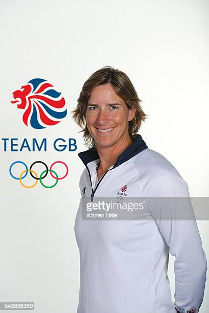 A portrait of Katherine Grainger a member of the Great Britain Olympic team during the Team GB Kitting Out ahead of Rio 2016 Olympic Games on June 26...