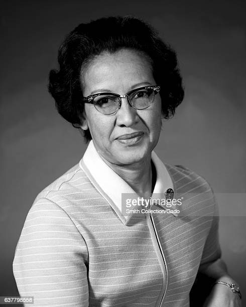 Portrait of Katherine Johnson a female physicist and scientist for NASA/NACA 1955 Image courtesy NASA
