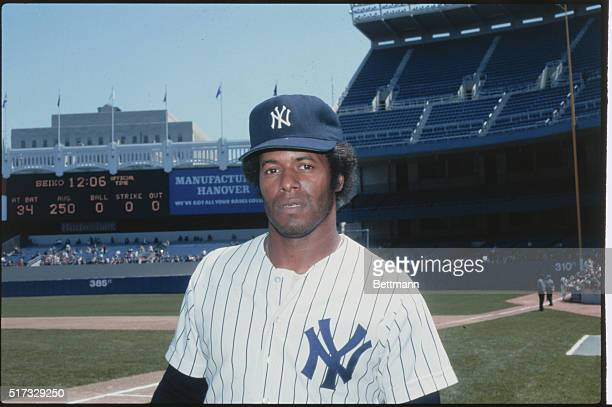 Portrait of Ken Griffey right infielder for the New York Yankees