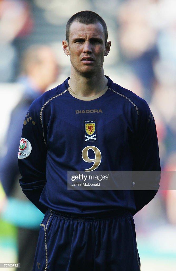 Euro2008 Qualifier - Scotland v Georgia : News Photo