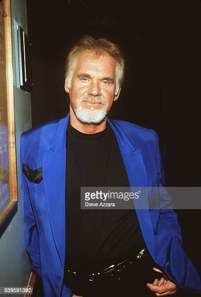 Portrait of Kenny Rogers.