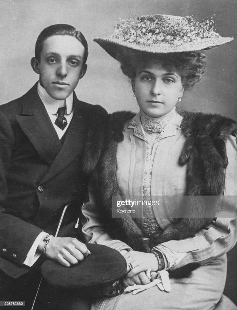 King Alfonso XIII Of Spain : News Photo