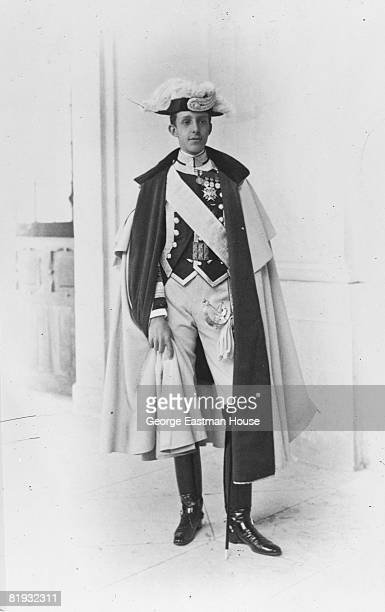 1908 Portrait of King Alphonse XIII of Spain Spain