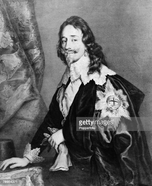 Portrait of King Charles I of England 1600 1649