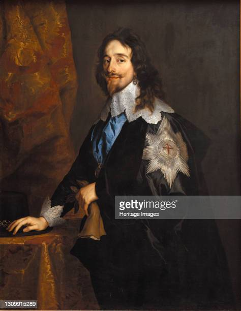 Portrait of King Charles I of England, Scotland and Ireland , End 1630s. Found in the collection of Statens Museum for Kunst, Copenhagen. Artist...