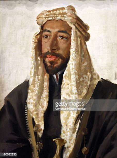 Portrait of King Feisal of Iraq 1919 by Augustus John 18781961