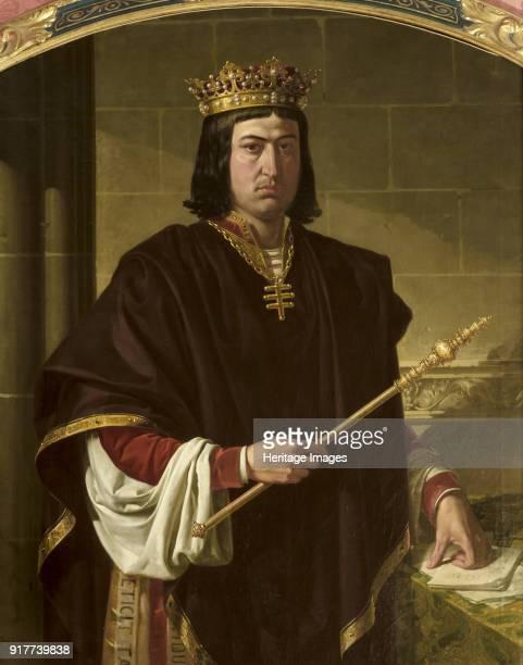 Portrait of King Ferdinand II of Aragon . Found in the Collection of Ayuntamiento de Sevilla.