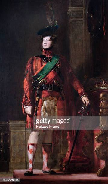 Portrait of King George IV 1830 From the collection of Apsley House London Artist David Wilkie