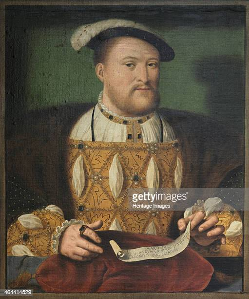Portrait of King Henry VIII c1544 From Audley End House Essex