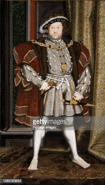 Portrait of King Henry VIII of England 15371541 Found in the Collection of Walker Art Gallery