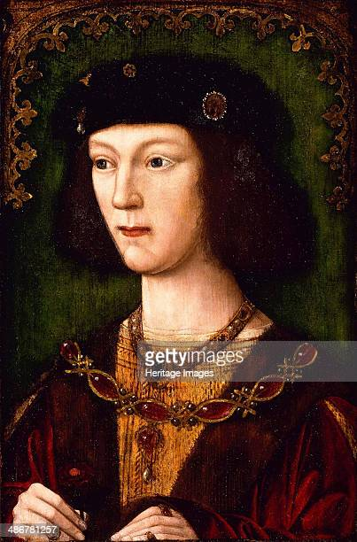 Portrait of King Henry VIII of England c 1513 Artist English master