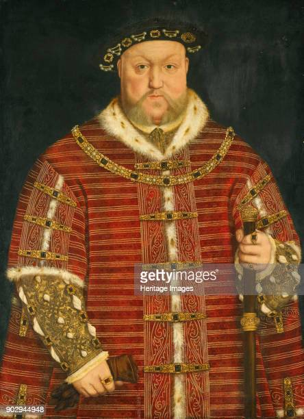 Portrait of King Henry VIII of England Private Collection