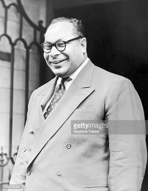 Portrait Of King Taufa'Ahau Tupou Iv Of Tonga In 1955.