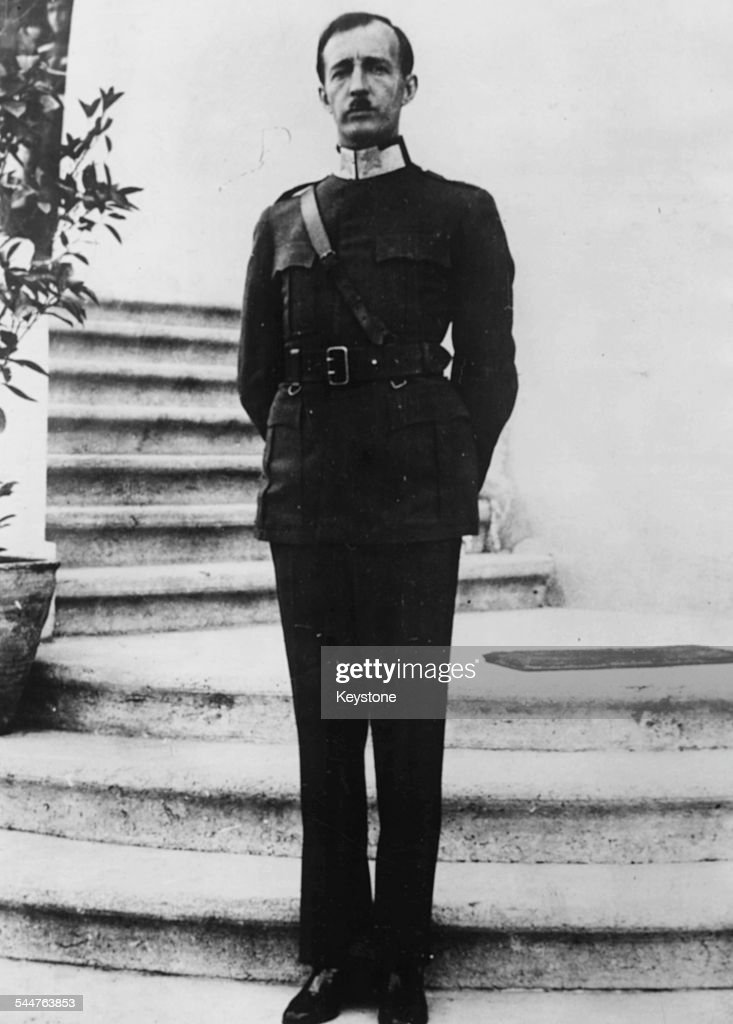 King Zog of Albania