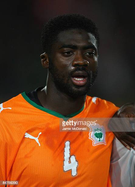 Portrait of Kolo Toure of the Ivory Coast during the International Friendly match between Turkey and the Ivory Coast at the Izmir Ataturk Stadium on...