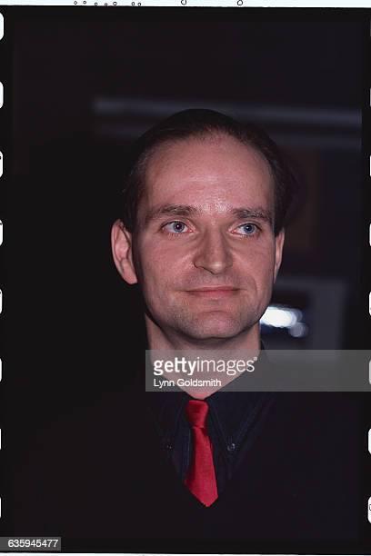 Portrait of Kraftwerk Band Member Florian Schneider