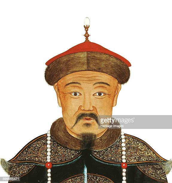 Portrait of Kublai Khan 13th century Found in the collection of Bibliothèque Nationale de France Artist Anonymous