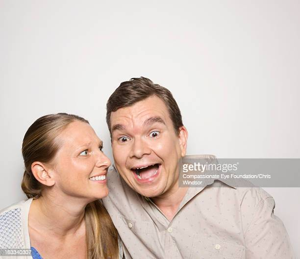 Portrait of laughing couple