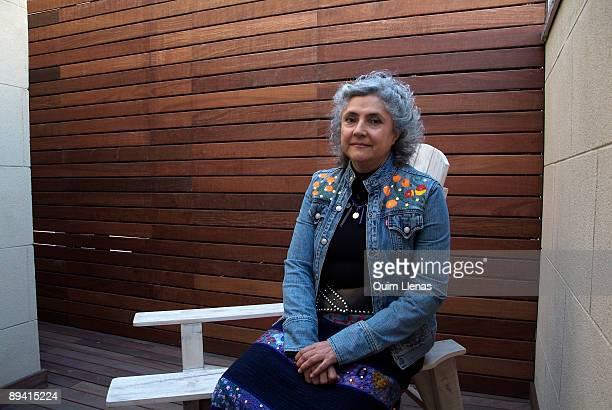 Portrait of Laura Esquivel writer