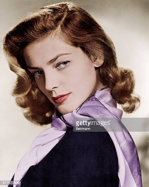 Portrait of Lauren Bacall 1950s