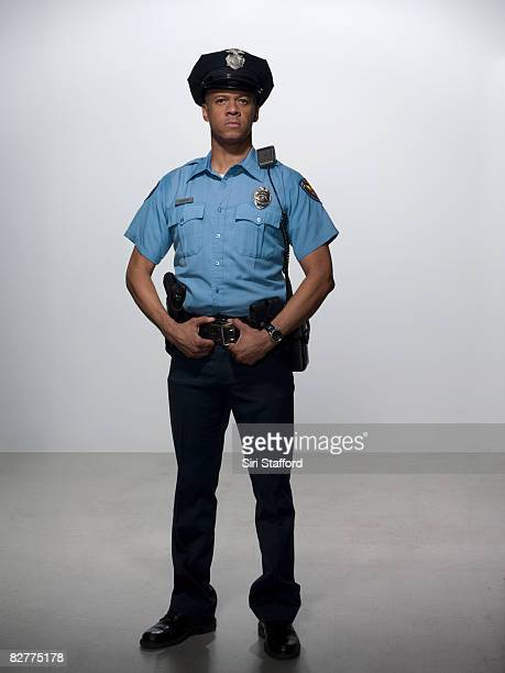 portrait of law enforcement officer