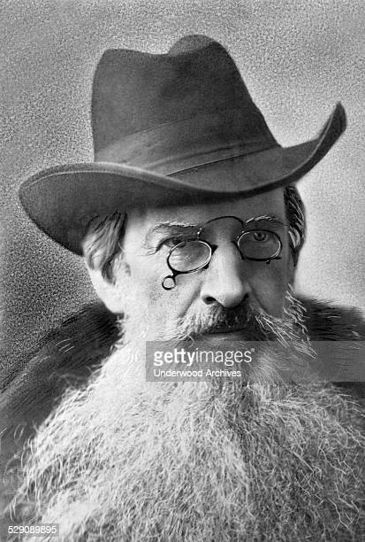 A portrait of lawyer philanthropist financier and fatherinlaw of Alexander Graham Bell Gardiner Green Hubbard while on a trip to Russia Russia 1875...