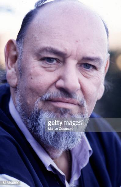 Portrait of Led Zeppelin manager Peter Grant at home in Eastbourne United Kingdom 1993