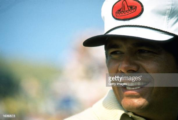 Portrait of Lee Trevino of the USA during the British Open at Muirfield Golf Club in Scotland Trevino won the event with a score of 278 Mandatory...