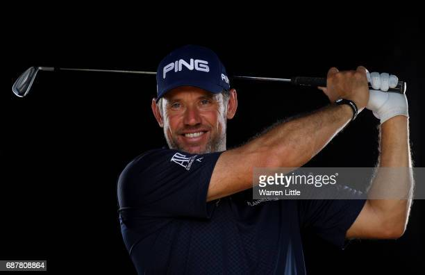 A portrait of Lee Westwood of England ahead of the BMW PGA Championships on the West Course at Wentworth on May 24 2017 in Virginia Water England