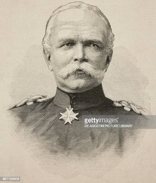 Portrait of Leon von Caprivi German general and politician illustration from Il Secolo Illustrato della Domenica Year II No 58 November 9 1890