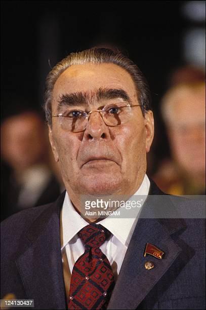 Portrait of Leonid Brejnev