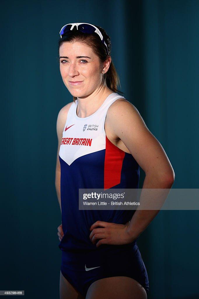 Great Britain Team Portraits for IPC Athletics World Championships