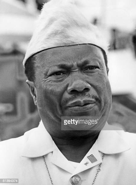 Portrait of Liberian President Dr William Richard Tolbert taken in June 1978 in Geneva Tolbert as Vice President succeeded to William Tubman who died...