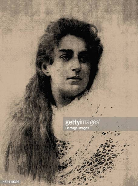 Portrait of Lidia Mizinova