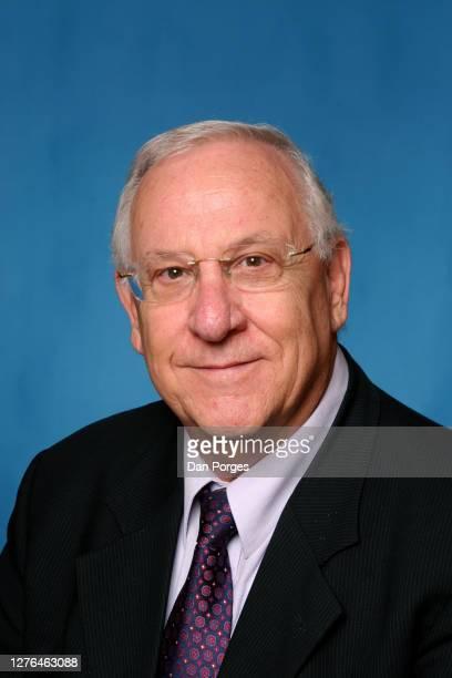 Portrait of Likud Party politician and speaker of the Knesset Reuven Rivlin, Jerusalem, Israel, December 21, 2005.