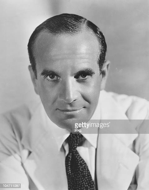 A portrait of Lithuanian born singer and actor Al Jolson circa 1930s